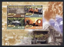PNG 2008 Mining Sheetlet MUH - Papua New Guinea