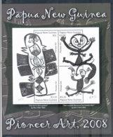 PNG 2008 Pioneer Art Sheetlet MUH - Papua New Guinea