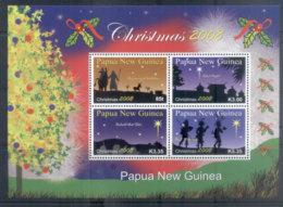 PNG 2008 Xmas Sheetlet MUH - Papua New Guinea