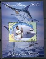 PNG 2010 Game Fishing MS MUH - Papua New Guinea