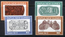PNG 2010 Pioneer Art MUH - Papua New Guinea