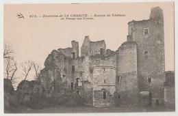CPA 58 Ruines De PASSY LES TOURS - Autres Communes