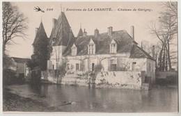 CPA 58 Environs De La CHARITE - Château De Gérigny - France