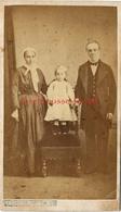CDV Première époque-famille-mode Second Empire-photo Guillaume Deconclois -Le Creusot - Photographs