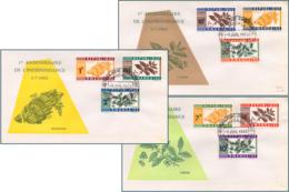 Rwanda 0024/32 FDC  Indépendance  1er Jour - Rwanda