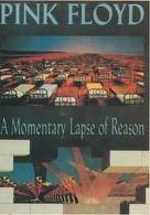Rare Ancienne  Cp  Pop Culture Années 80 Pink Floyd A Momentary Lapse Of Reason - Objets Dérivés