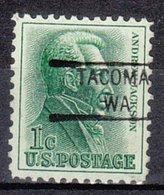 USA Precancel Vorausentwertung Preo, Locals Washington, Tacoma 841 - Vereinigte Staaten