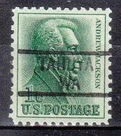 USA Precancel Vorausentwertung Preo, Locals Washington, Tahuya 839 - Vereinigte Staaten