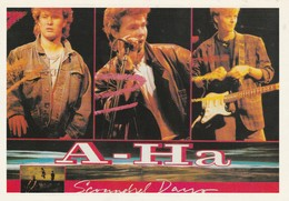 Rare Ancienne  Cp  Pop Culture Années 80 A-HA - Other Products