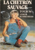 Rare Ancienne  Cp  Pop Culture Années 80  Renaud La Chetron Sauvage Tour 86 - Other Products