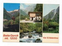 Iavrè (Trento) - Val S. Valentino - Bar Baita Gorck - Cartolina Multipanoramica - Non Viaggiata - (FDC12498) - Trento