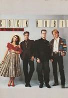 Rare Ancienne  Cp  Pop Culture Années 80  Cock Robin - Objets Dérivés