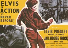 Rare Ancienne  Cp  Pop Culture Années 80  Elvis Presley - Altri Oggetti