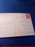 CACHET HEXAGONAL  Pointillé  Bouzic DORDOGNE1952 - Marcophilie (Lettres)
