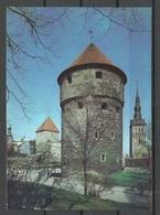 Estland Estonia 1990 Ansichtskarte Kiek In De Kök Kanonenturm Tallinn Reval Sauber Unbenutzt Unused - Estonie