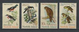 NORFOLK 1970  N° 105 108 110 Et 111 ** Neufs MNH Superbes C 7,20 € Faune Oiseaux Birds Fauna Animaux - Ile Norfolk
