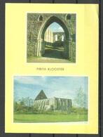 Estland Estonia 1972 Ansichtskarte Kloster Pirita Sauber Unbenutzt Unused - Estonia
