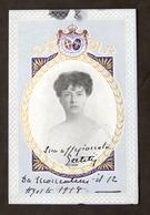 Storia - Autografo Principessa Maria Letizia Bonaparte Di Savoia - 1918 - Autografi
