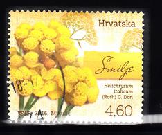 Kroatie 2016 Mi Nr 1219, Flower, Bloemen, Strooibloemen - Kroatië