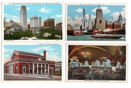LOT  DE 48 CARTES  POSTALES  ANCIENNES  DIVERS  ETATS  UNIS  N35 - Cartes Postales