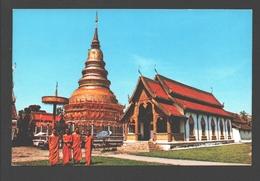 Lampoon-Province - Wat Phrathat-Hariphoon-chai - Thailand