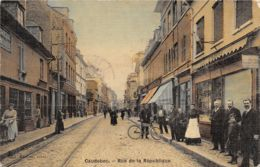 76-CAUDEBEC LES ELBEUF-RUE DE LA REPUBLIQUE-N°R2047-G/0043 - Caudebec-lès-Elbeuf
