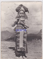 CPSM 10X15 Du LAOS - JEUNE FILLE De RACE MEO En COSTUME De FETE Le JOUR De L' AN N° 501 -1967 - Laos