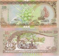 Maldives P-19  10 Rufiyaa  2006  UNC - Maldives