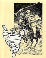MICHELIN - MENU MICHELIN ILLUSTRE - AMICALE DES MEDAILLES DU TRAVAIL MICHELIN - DINER MARRAKECH 5 MARS 1987 (14 X 17 Cm) - Menus