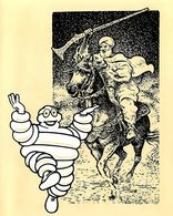 MICHELIN - MENU MICHELIN ILLUSTRE - AMICALE DES MEDAILLES DU TRAVAIL MICHELIN - DINER MARRAKECH 5 MARS 1987 (14 X 17 Cm) - Menú