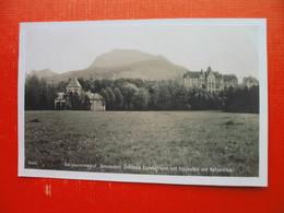 Gmunden.Schloss Cumberland,mit Traunstein Und Katzenstein - Gmunden