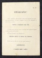 Militaria - Storia WWII Africa - Volantino Di Resa Per Gli Italiani - Documenti