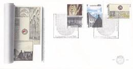 Nederland - FDC - Utrecht  - Domkerk Te Utrecht/Duitse Huis Te Utrecht/Universiteit Van Utrecht - NVPH E236 - Monumenten