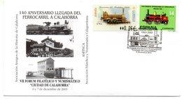 Carta Con Matasellos Commemorativo  VII Forum Filatelico Y Numismatico Ciudad De Calahorra. 2003 - 1931-Hoy: 2ª República - ... Juan Carlos I