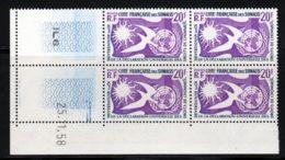 Cote Des Somalis 1958 Yvert 291 ** TB Coin Date - Ungebraucht
