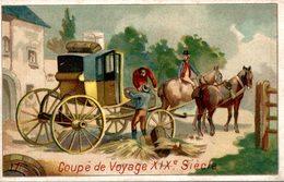 CHROMO  CHICOREE A LA FRANCAISE PAUL MAIRESSE CAMBRAI  COUPE DE VOYAGE XIXe SIECLE - Trade Cards