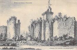 50 - AVRANCHES - Ruines Du Château D'Avranches - Avranches