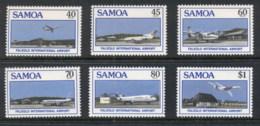 Samoa 1988 Faleolo International Airport, Plane MUH - Samoa