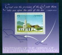 Samoa 1988 Latter Day Saints MS MUH Lot54844 - Samoa