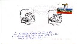 Carta Con Matasellos Commemorativo  125 Años De Historia De Sant Feliu De Guixols A Girona. Circulada - 1931-Hoy: 2ª República - ... Juan Carlos I