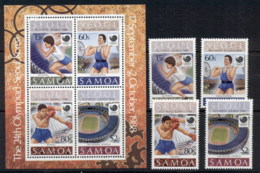 Samoa 1988 Summer Olympics, Seoul + MS MUH - Samoa