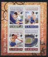 Samoa 1988 Summer Olympics, Seoul MS MUH - Samoa