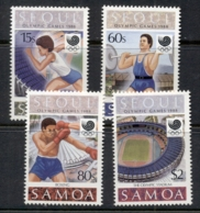 Samoa 1988 Summer Olympics, Seoul MUH - Samoa