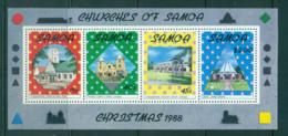 Samoa 1988 Xmas MS MUH Lot54878 - Samoa