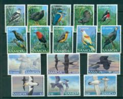 Samoa 1988-89 Bird Definitives MUH Lot54855 - Samoa
