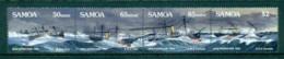 Samoa 1989 Apia Hurricane Strip 4 MUH Lot54682 - Samoa