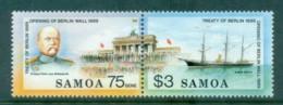 Samoa 1989 Brandenburg Gate Pr MUH Lot81520 - Samoa