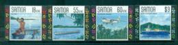 Samoa 1990 Local Transport, Ship, Plane MUH Lot54675 - Samoa