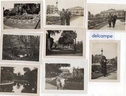 8 Photos   Anciennes  -  LE  HAVRE -  1931 - 1933 - Lieux