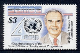 Samoa 1990 UN Devcelopment Program MUH - Samoa